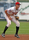 August 31, 2003:  Buck Coats of the Lansing Lugnuts, Class-A affiliate of the Chicago Cubs, during a Midwest League game at Oldsmobile Park in Lansing, MI.  Photo by:  Mike Janes/Four Seam Images