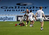 26th December 2020; Twickenham Stoop, London, England; English Premiership Rugby, Harlequins versus Bristol Bears; Mike Brown of Harlequins trying to break free from Semi Radradra of Bristol Bears