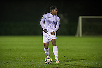 Monday  19 December 2014<br /> Pictured: Tyler Reid of Swansea City <br /> Re: Swansea City U23 v Middlesbrough u23 at the Landore Training Facility, Swansea, Wales, UK
