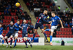 St Johnstone v Ross County…..29.12.19   McDiarmid Park   SPFL<br />Callum Hendry scores to make it 1-1<br />Picture by Graeme Hart.<br />Copyright Perthshire Picture Agency<br />Tel: 01738 623350  Mobile: 07990 594431