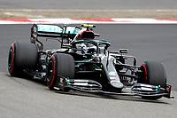 11th October 2020, Nuerburgring, Nuerburg, Germany; FIA Formula 1 Eifel Grand Prix, Race Day;  77 Valtteri Bottas FIN, Mercedes-AMG Petronas Formula One Team before retiring due to engine failure