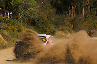 Barrable Robert and Loudon Stuart, Ford Fiesta S2000 during WRC Vodafone Rally de Portugal 2013, in Algarve, Portugal on April 14, 2013 (Photo Credits: Paulo Oliveira/DPI/NortePhoto)