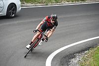 20th May 2018, Giro D italia; stage 15 Tolmezzo to Sappada, Bmc Racing Team; Roelandts, Jurgen; Passo Della Mauria;