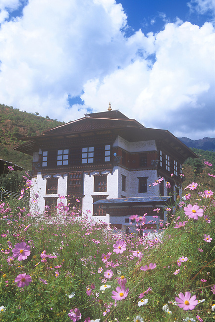 National Library, Thimphu, Bhutan