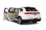 Car images close up view of a 2018 Lincoln MKT Reserve 5 Door SUV doors