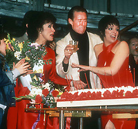 1978 FILE PHOTO<br /> New York, NY<br /> Chita Rivera Halston Liza Minelli at Studio 54<br /> Photo by Adam Scull-PHOTOlink.net