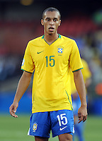 Miranda of Brazil. Brazil defeated USA 3-0 during the FIFA Confederations Cup at Loftus Versfeld Stadium in Tshwane/Pretoria, South Africa on June 18, 2009.