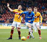 07.04.2019 Motherwell v Rangers: Eros Grezda with Liam Grimshaw and Chris Cadden