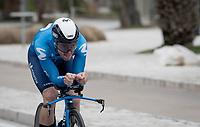 Gonzalo Serrano (ESP/Movistar)<br /> <br /> Final stage 7 (ITT) from San Benedetto del Tronto to San Benedetto del Tronto (10.1km)<br /> <br /> 56th Tirreno-Adriatico 2021 (2.UWT) <br /> <br /> ©kramon