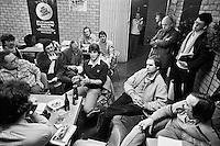1981, ABN WTT, Persvonferentie met Eric Wilborts