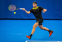 Amstelveen, Netherlands, 18  December, 2020, National Tennis Center, NTC, NK Indoor, National  Indoor Tennis Championships,   :  Ryan Nijboer (NED) <br /> Photo: Henk Koster/tennisimages.com