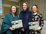 Mary Connole from the Copper Jug, with Linda Brannigan and Joan Toner of Eye Candy Opticians at the announcement of the winners of the annual Clare Champion Christmas Shop Window Display competition in the Old Ground hotel, Ennis. Photograph by John Kelly.