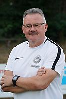 Torwarttrainer Reinhold Engel (RW Walldorf) - Mörfelden-Walldorf 04.08.2020: Mannschaftsvorstellung von Hessenligist Rot-Weiss Walldorf für die Saison 2020/21