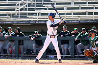 CARY, NC - FEBRUARY 23: Mac Hippenhammer #14 of Penn State University waits for a pitch during a game between Wagner and Penn State at Coleman Field at USA Baseball National Training Complex on February 23, 2020 in Cary, North Carolina.
