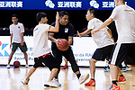 Media match during The Asia League's The Terrific 12 at Studio City Event Center on 22 September 2018, in Macau, Macau. Photo by Marcio Rodrigo Machado / Power Sport Images for Asia League