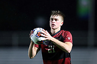 CARY, NC - DECEMBER 13: Keegan Tingey #21 of Stanford University during a game between Stanford and Georgetown at Sahlen's Stadium at WakeMed Soccer Park on December 13, 2019 in Cary, North Carolina.