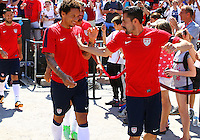 WASHINGTON, DC - June 01 2013: US MNT practice and news conference at RFK Stadium, in Washington DC.