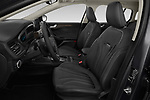 Front seat view of a 2019 Ford Focus-Clipper Vignale 5 Door Wagon front seat car photos