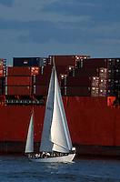 Deutschland, Hafen in Hamburg,