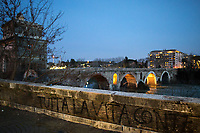Ponte Milvio (it borders with Olympic Village).<br /> <br /> Rome, 12/03/20. Rome's Olympic Village district under the Italian Government lockdown for the Outbreak of the Coronavirus SARS-CoV-2 - COVID-19. On 22 March, the Italian PM Giuseppe Conte signed a new Decree Law which suspends non-essential industry productions and contains the list of allowed working activities, which includes Pharmaceutical & food Industry, oil & gas extraction, clothes & fabric, tobacco, transports, postal & banking services (timetables & number of agencies reduced), delivery, security, hotels, communication & info services, architecture & engineer, IT manufacturers & shops, call centers, domestic personnel (1.).<br /> Updates: Italy: 22.03.20, 6:00PM: 46.638 positive cases; 7.024 recovered; 5.476 died.<br /> <br /> The Rome's Olympic Village (1957-1960) was designed by: V. Cafiero, A. Libera, A. Luccichenti, V. Monaco, L. Moretti. «Built to host the approximately 8,000 athletes involved in the 1960 Olympic Games, Rome's Olympic Village is a residential complex located between Via Flaminia, the slopes of Villa Glori and Monti Parioli. It was converted into public housing [6500 inhabitants, ndr] at the end of the sporting event. The intervention is an example of organic settlement, characterized by a strong formal homogeneity, consistent with the Modern Movement's principles of urbanism. The different architectural structures are made uniform by the use of some common elements: the pilotis, ribbon windows, concrete stringcourses, and yellow brick curtain covering. At the center of the neighborhood, the Corso Francia viaduct - a road bridge about one kilometer long - was built by P.L. Nervi[…]» (2.).<br /> <br /> Info COVID-19 in Italy: http://bit.do/fzRVu (ITA) - http://bit.do/fzRV5 (ENG)<br /> 1. March 22nd Decree Law http://bit.do/fFwJn (ITA)<br /> 2. (Atlantearchitetture.beniculturali.it MiBACT, ITA - ENG) http://bit.do/fFw3H<br /> 12.03.20 Rome's Lockdown for the Outbreak of the Coro