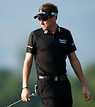 Ian Poulter in action during Round 2 of the UBS Hong Kong Golf Open 2011 at Fanling Golf Course in Hong Kong on 2 December 2011. Photo © Victor Fraile / The Power of Sport Images
