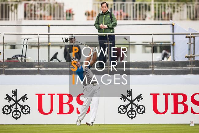 Scott Barr of Australia tees off during the day three of UBS Hong Kong Open 2017 at the Hong Kong Golf Club on 25 November 2017, in Hong Kong, Hong Kong. Photo by Yu Chun Christopher Wong / Power Sport Images