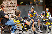 July 12th 2021, Andorre-la-Vielle, France; VINGEGAARD Jonas (DEN) of JUMBO-VISMA during rest day 2 of the 108th edition of the 2021 Tour de France cycling race on July 12