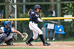 #22 Endo Kanako of Japan bats during the BFA Women's Baseball Asian Cup match between South Korea and Japan at Sai Tso Wan Recreation Ground on September 2, 2017 in Hong Kong. Photo by Marcio Rodrigo Machado / Power Sport Images