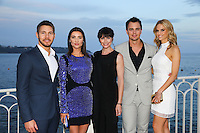 - NO TABLOIDS, NO WEB - 13/06/2016'TV Series' Party at the Monte-Carlo Bay Hotel and Resort during the 56th Monte-Carlo Television Festival. Cast of 'The Bold and the Beautiful'.