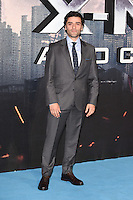 """Oscar Isaac<br /> at the """"X-Men Apocalypse"""" premiere held at the IMAX, South Bank, London<br /> <br /> <br /> ©Ash Knotek  D3116  09/05/2016"""