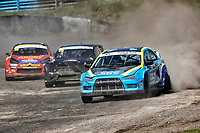 Steve Hill, Mitsubishi EVO X, BRX Supercars from Roger Thomas, Ford Fiesta WRX, BRX Supercars and Tristan Ovenden, Citroen DS3, BRX Supercars during the 5 Nations BRX Championship at Lydden Hill Race Circuit on 31st May 2021