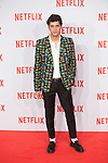 Eduardo Casanova attends Netflix presentation in Madrid, Spain. October 20, 2015. (ALTERPHOTOS/Victor Blanco)