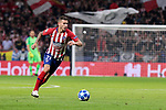 Atletico de Madrid's Lucas Hernandez during UEFA Champions League match between Atletico de Madrid and Club Brugge at Wanda Metropolitano Stadium in Madrid, Spain. October 03, 2018. (ALTERPHOTOS/A. Perez Meca)
