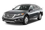 2015 Honda Crosstour EX 4 Door Hatchback Angular Front stock photos of front three quarter view