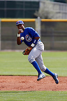 Starlin Castro - Chicago Cubs - 2009 spring training.Photo by:  Bill Mitchell/Four Seam Images