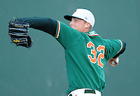 April 20, 2009: RHP Johnny Dorn (32) of the Greensboro Grasshoppers, Class A affiliate of the Florida Marlins, in a game against the Greenville Drive at Fluor Field at the West End in Greenville, S.C. Photo by: Tom Priddy/Four Seam Images