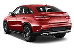 Car pictures of rear three quarter view of 2017 Mercedes Benz GLE-Class-Coupe GLE43-AMG 5 Door SUV Angular Rear