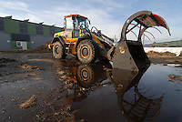 "Deutschland Biogasanlage TNS Trockenfermentation durch Firma Loock projektiert - erneuerbare Energie Biogas Bulldozer Silo Mist Silage | Europe Germany GER , new biogas plant which run by dry fermentation .  -  agriculture renewable energy .| [ copyright (c) Joerg Boethling / agenda , Veroeffentlichung nur gegen Honorar und Belegexemplar an / publication only with royalties and copy to:  agenda PG   Rothestr. 66   Germany D-22765 Hamburg   ph. ++49 40 391 907 14   e-mail: boethling@agenda-fototext.de   www.agenda-fototext.de   Bank: Hamburger Sparkasse  BLZ 200 505 50  Kto. 1281 120 178   IBAN: DE96 2005 0550 1281 1201 78   BIC: ""HASPDEHH"" ,  WEITERE MOTIVE ZU DIESEM THEMA SIND VORHANDEN!! MORE PICTURES ON THIS SUBJECT AVAILABLE!! ] [#0,26,121#]"