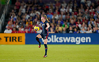 ORLANDO, FL - MARCH 05: Rose Lavelle #16 of the United States during a game between England and USWNT at Exploria Stadium on March 05, 2020 in Orlando, Florida.