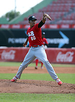 Andy Maldonado participates in the MLB International Showcase at Estadio Quisqeya on February 22-23, 2017 in Santo Domingo, Dominican Republic.