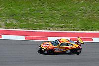 September 19, 2013: <br /> <br /> Henrique Cisneros / Sean Edwards driving #30 GTC Porsche 911 GT3 Cup during International Sports Car Weekend test and setup day in Austin, TX.