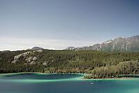 Emerald Lake near Carcross, YT, Yukon Territory, Canada - Klondike Region
