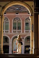 Europe/Croatie/Dalmatie/Split: Arcades de style néo-renaissance de la vieille ville