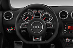 Steering wheel view of a 2011 - 2014 Audi TT S line 3 Door Coupe 4WD