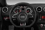 Steering wheel view of a 2011 - 2014 Audi TT S line 3 Door Coupe 4WD
