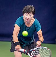 Hilversum, The Netherlands,  August 17, 2021,  Tulip Tennis Center, NKS, National Senior Tennis Championships,  Esther Romunde (NED)  <br /> Photo: Tennisimages/Henk Koster