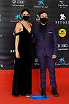 53 FESTIVAL INTERNACIONAL DE CINEMA FANTASTIC DE CATALUNYA. SITGES 2020.<br /> Red Carpet Gala Inauguracion.<br /> Melina Matthews & Dafnis Balduz.