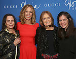 """Emily Mann, Christine Lahti, Gloria Steinem and Diane Paulus attend the Opening Night Performance After Party for """"Gloria: A Life"""" on October 18, 2018 at the Gramercy Park Hotel in New York City."""