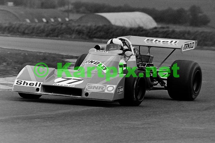 "Patrick Dal Bo<br /> Esso Uniflo B.A.R.C. ""200"" 1973<br /> Jochen Rindt Memorial Trophy<br /> European Championship for F2 Drivers, Round 3"