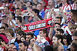 Atletico de Madrid's supporters during Champions League 2016/2017 Quarter-finals 1st leg match. April 12,2017. (ALTERPHOTOS/Acero)